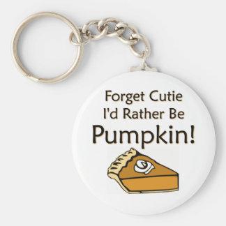 Pumpkin Pie Keychains