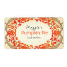 Pumpkin Pie Labels, Customize
