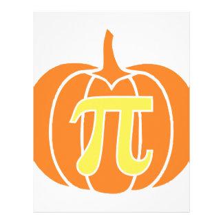 Pumpkin Pie Letterhead