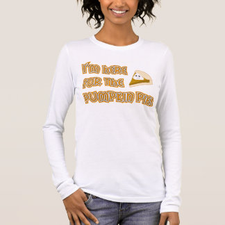Pumpkin Pie Long Sleeve T-Shirt