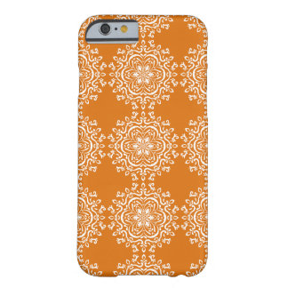 Pumpkin Pie Mandala Barely There iPhone 6 Case