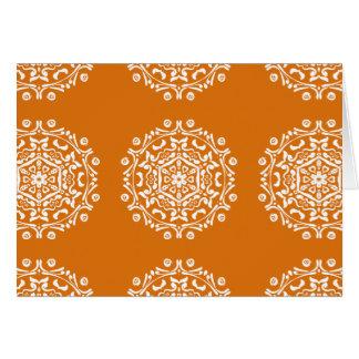 Pumpkin Pie Mandala Card