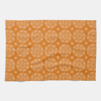 Pumpkin Pie Mandala Kitchen Towel
