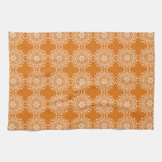 Pumpkin Pie Mandala Kitchen Towel