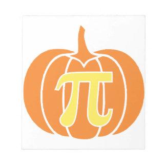 Pumpkin Pie Notepad