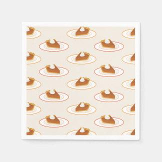 Pumpkin Pie Party Disposable Napkins
