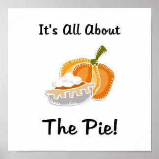 Pumpkin Pie Poster