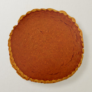 Pumpkin Pie Round Pillow