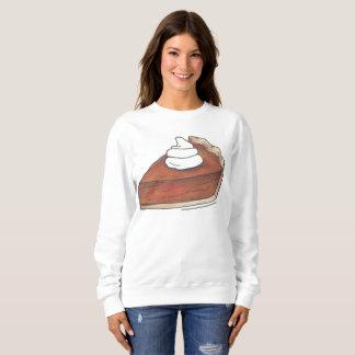 Pumpkin Pie Slice w/ Whipped Cream Sweatshirt