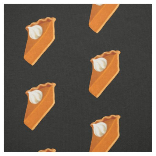 Pumpkin Pie Slices Fabric