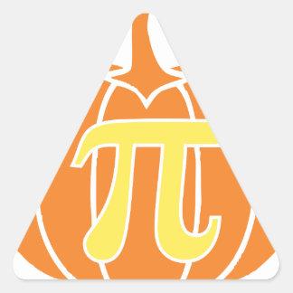 Pumpkin Pie Triangle Sticker