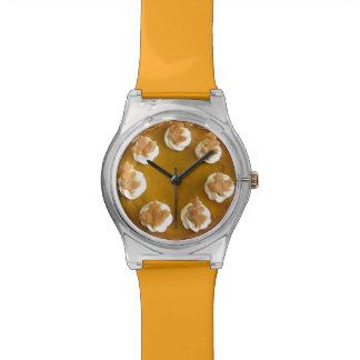 Pumpkin Pie Whipped Cream Thanksgiving Watch Watch