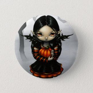 """Pumpkin Pixie"" Button"