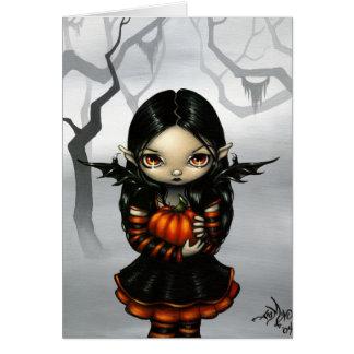"""""""Pumpkin Pixie"""" Greeting Card"""