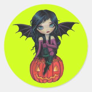 Pumpkin Pixie Halloween Stickers