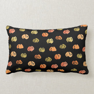 Pumpkin Polyester Lumbar Pillow
