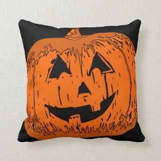 pumpkin,pumpkins,day of the dead,halloween throw pillow