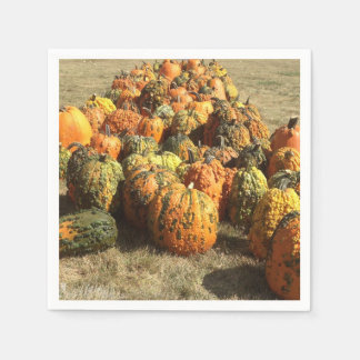 Pumpkin Sale Napkin