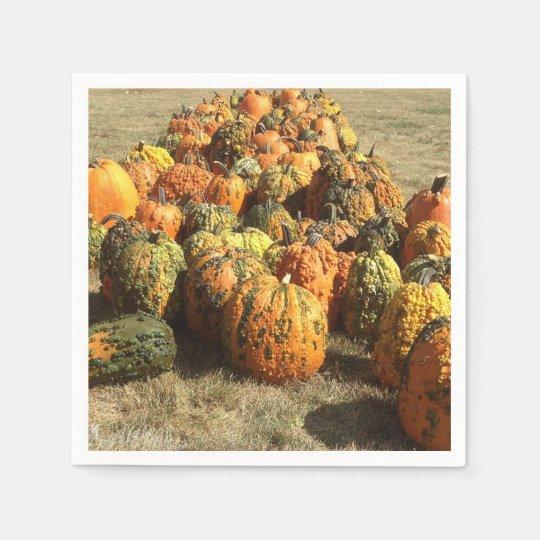 Pumpkin Sale Napkin Disposable Napkins