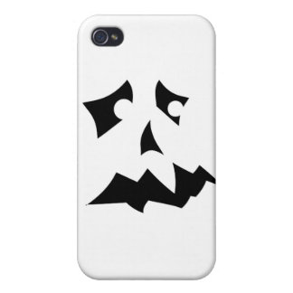 Pumpkin Scared Case For iPhone 4