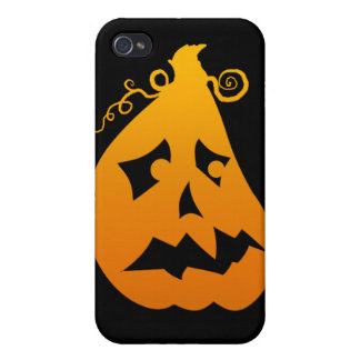 Pumpkin Scared Case For The iPhone 4