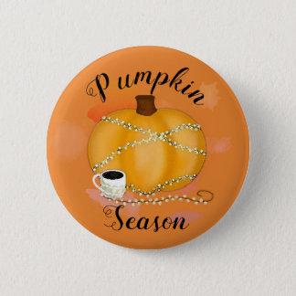 Pumpkin Season 2 Inch Round Button