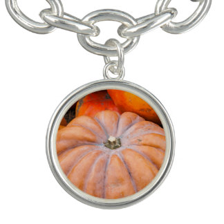 Pumpkin Season Charm Bracelets
