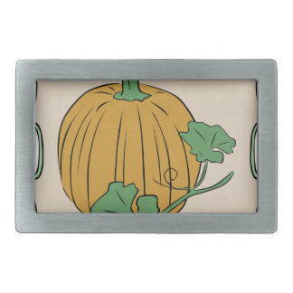 Pumpkin Sign Belt Buckle