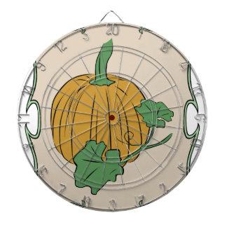 Pumpkin Sign Dartboard