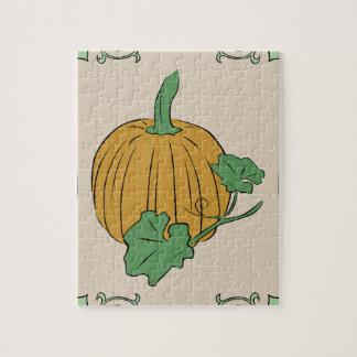Pumpkin Sign Jigsaw Puzzle