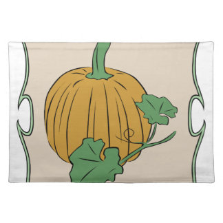 Pumpkin Sign Placemat