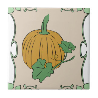 Pumpkin Sign Tile