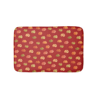 Pumpkin Small Bath Mat