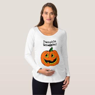 Pumpkin Smuggler Maternity T-Shirt