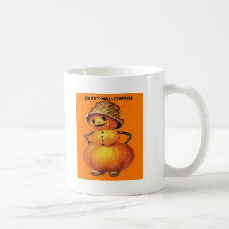 Pumpkin Snowman Coffee Mug