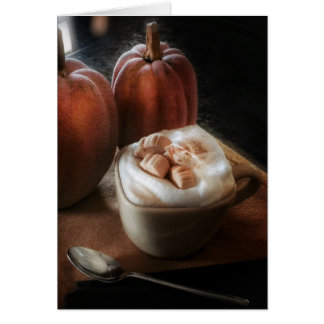 Pumpkin Spice and Everything Nice Birthday Card