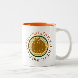 Pumpkin, Spice & Everything Nice 11 oz. Mug