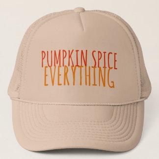 Pumpkin Spice Everything Trucker Hat