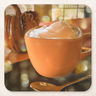 Pumpkin Spice Latte Coasters