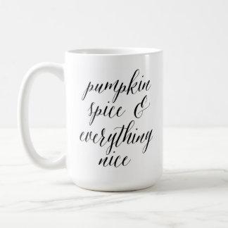 Pumpkin Spice Mug, Fall Essentials Mug, Fall Mug