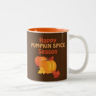 Pumpkin Spice Season 11 oz Two-Tone Mug