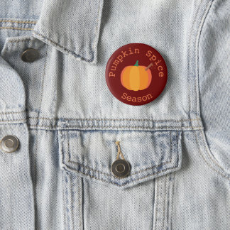 Pumpkin Spice Season Fall Pin