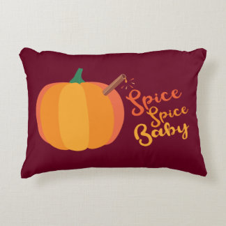 "Pumpkin ""Spice Spice Baby"" Fall Pillow"