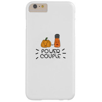 Pumpkin Spice Thanksgiving Funny Tshirt Barely There iPhone 6 Plus Case