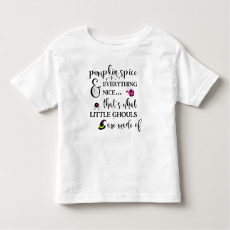Pumpkin Spice Toddler Fine Jersey T-Shirt