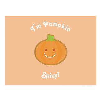 Pumpkin Spicy | Postcard