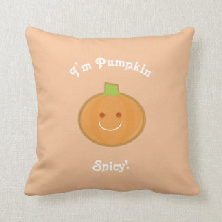 Pumpkin Spicy | Throw Pillow