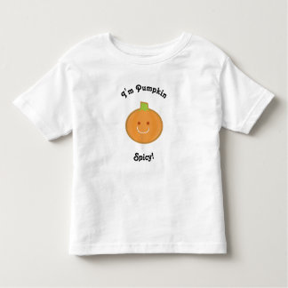 Pumpkin Spicy Toddler T-shirt
