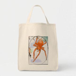 Pumpkin Spider Bag