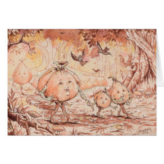 Pumpkin Stroll Card